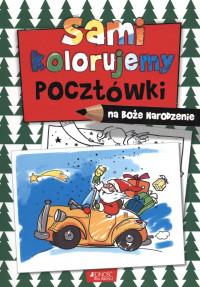 Sami kolorujemy pocztówki na Boże Narodzenie