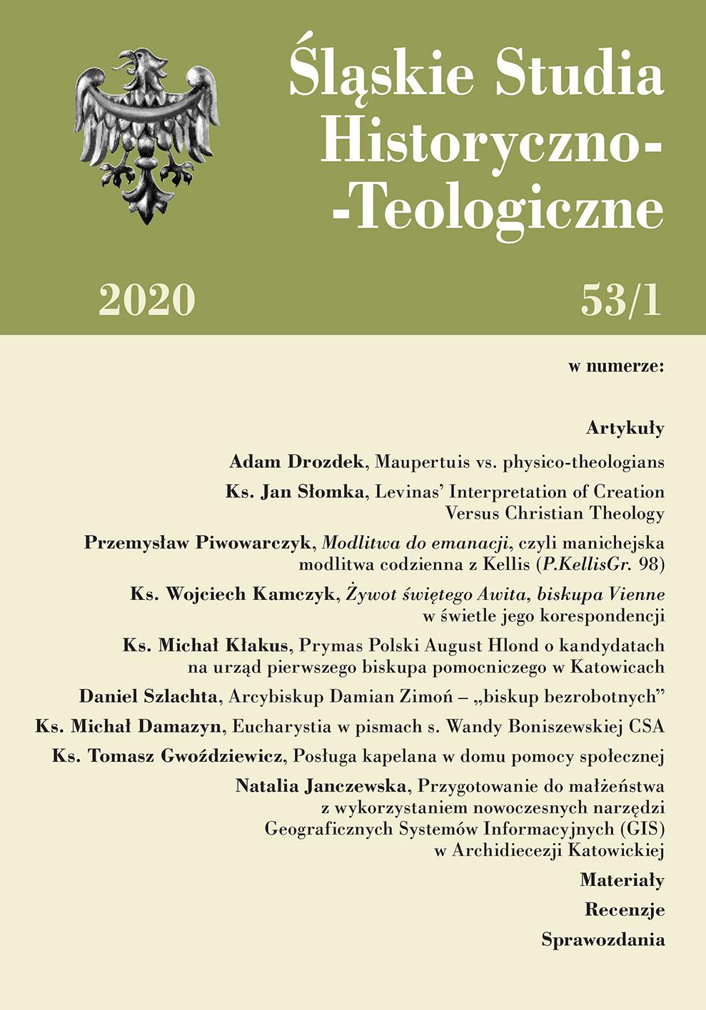 Śląskie Studia Historyczno-Teologiczne 53/1 (2021)