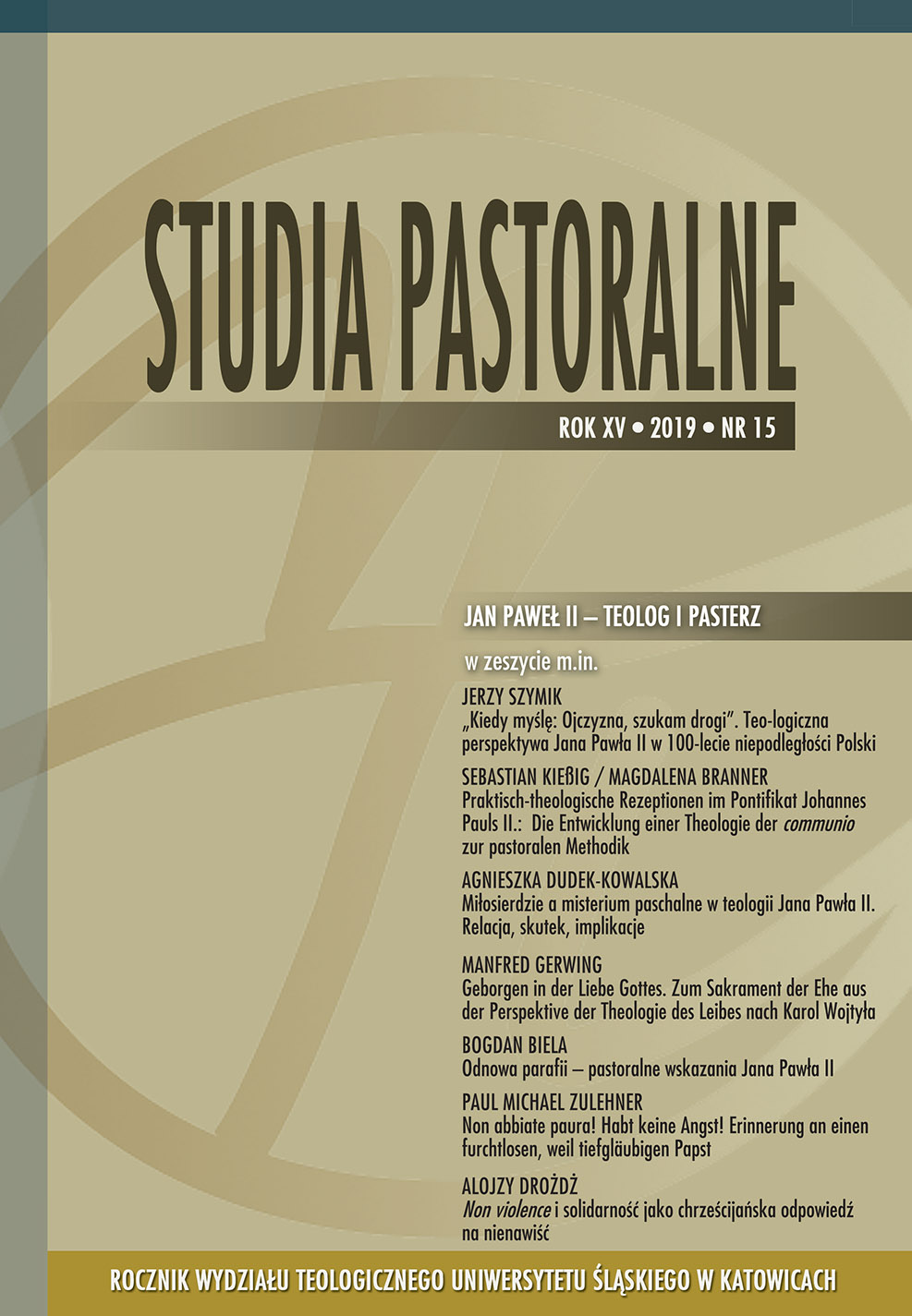 Studia Pastoralne 15