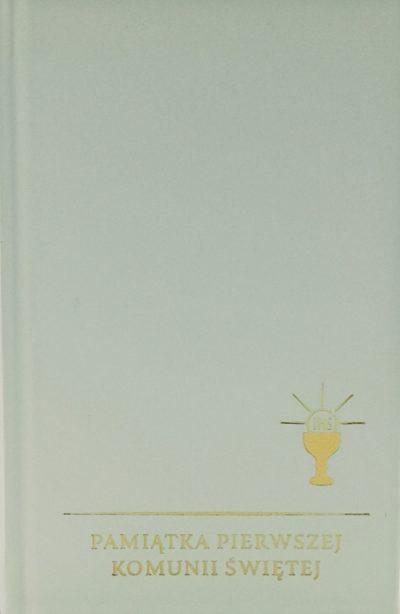 Skarbiec modlitw i pieśni wyd. XVIII złocony biały I Komunia