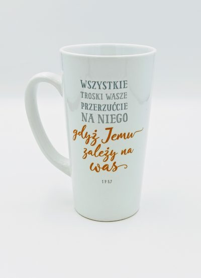 Kubek latte - Wszystkie troski wasze