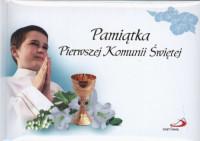 Pamiątka Pierwszej Komunii Świętej / chłopiec