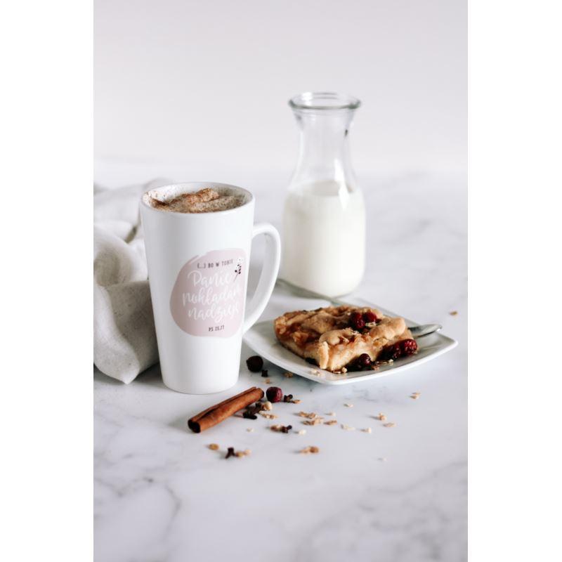 Kubek latte - Bo w tobie Panie