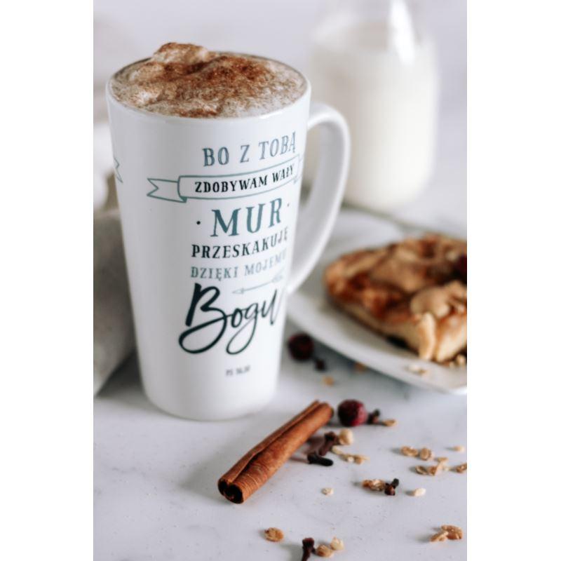 Kubek latte - Bo z Tobą zdobywam
