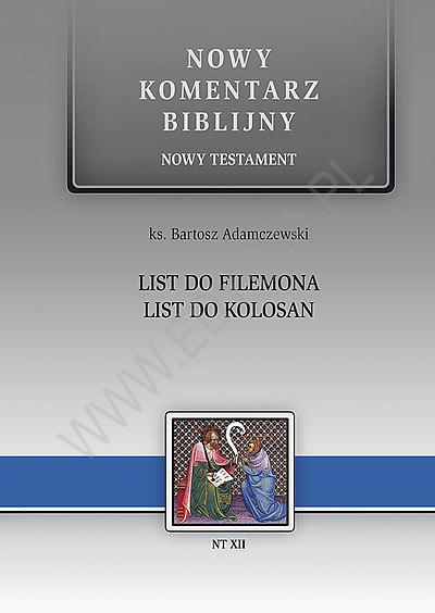 List do Filemona. List do Kolosan.