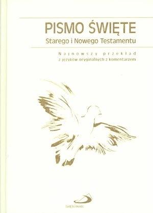 Pismo Św. ST i NT/Edycja/ białe złocone