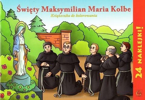 Kolorowanka św. Maksymilian