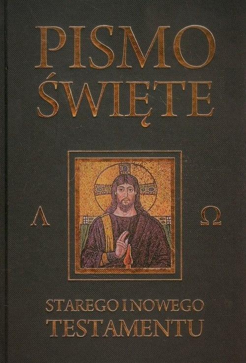 Pismo Święte Starego i Nowego Testamentu (czarne)