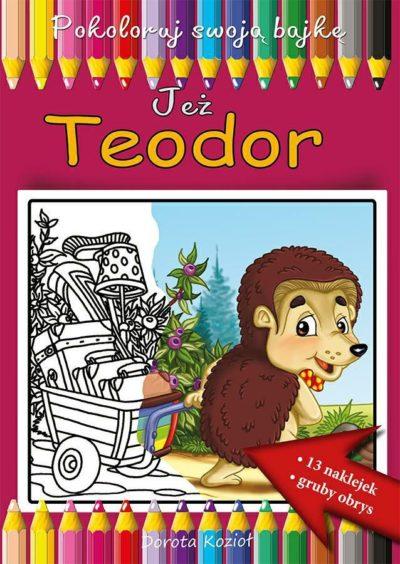 Jeż Teodor - kolorowanka
