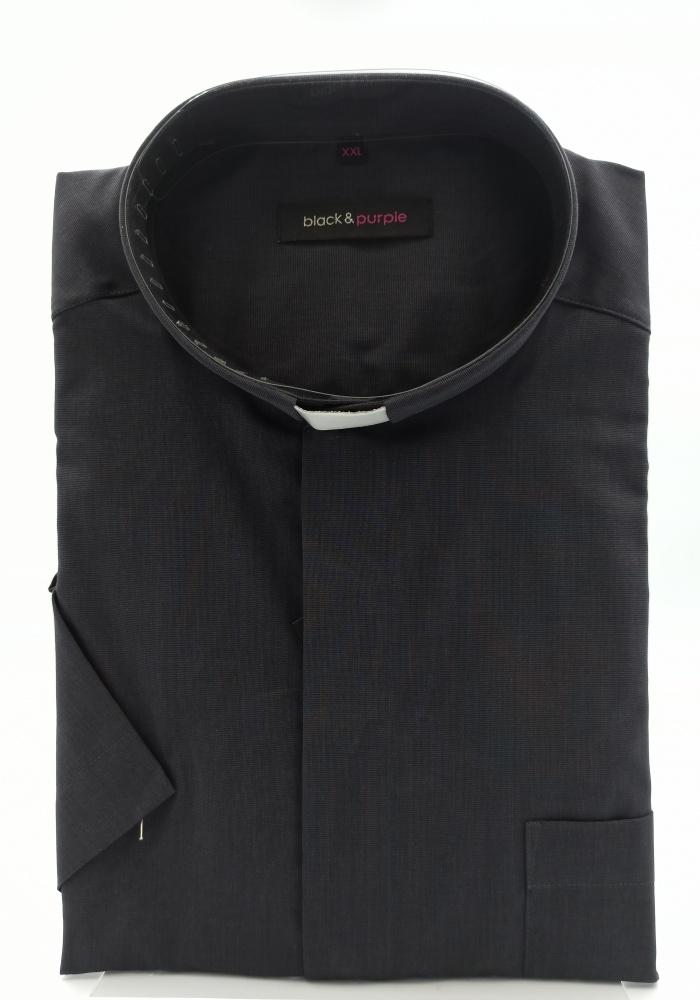 Koszula kapłańska (kr. rękaw; 80% bawełna)