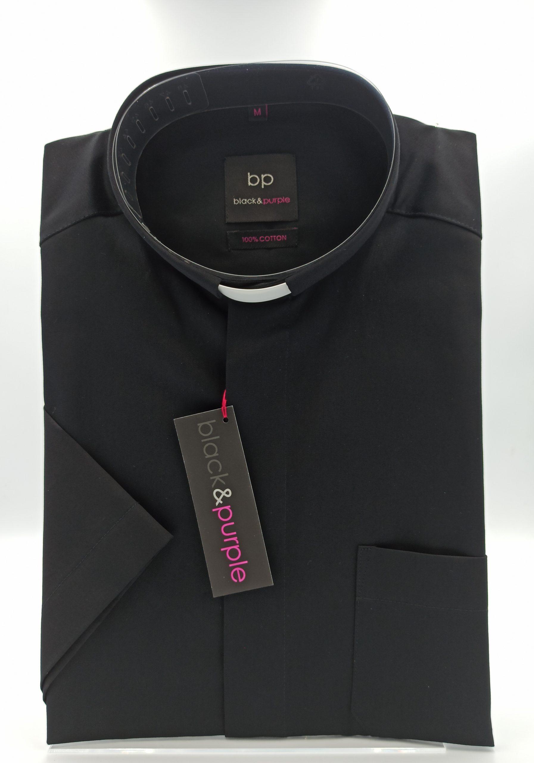 Koszula kapłańska (kr. rękaw; 100% bawełna)