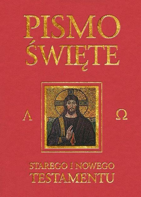 Pismo Święte Starego i Nowego Testamentu (bordo)