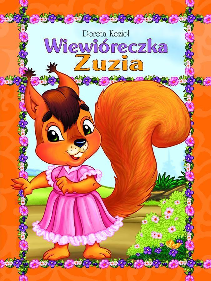 Wiewióreczka Zuzia - książka (oprawa miękka)