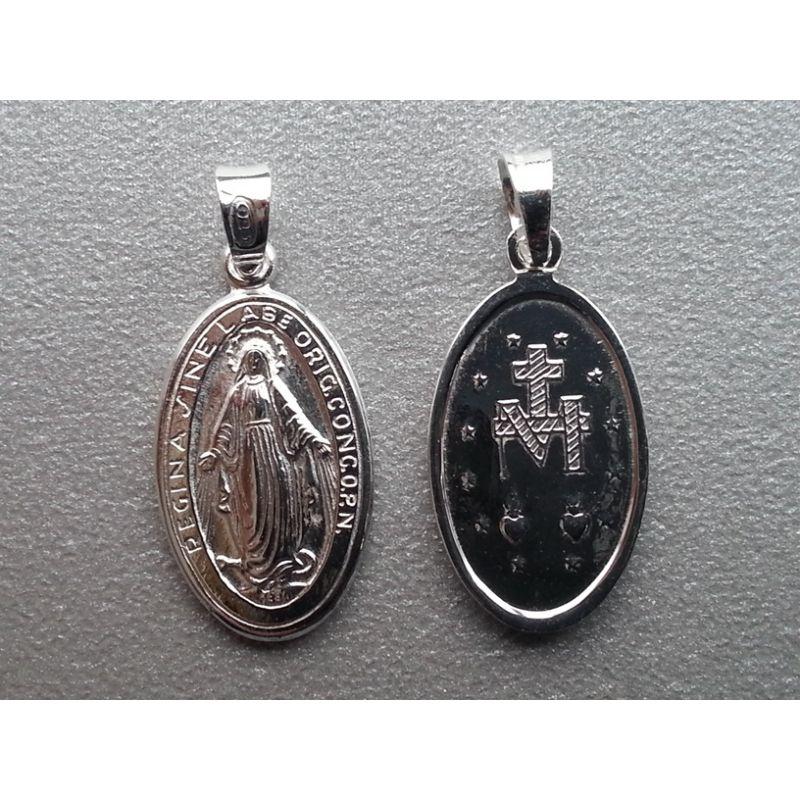 Medalik srebrny- MB Niepokalana