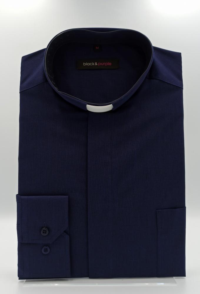 Koszula kapłańska (dł. rękaw; 80% bawełna)
