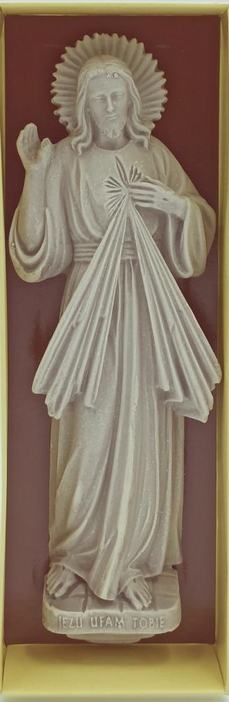 Jezus Miłosierny - relief