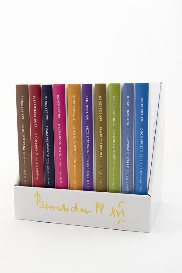Benedykt XVI - komplet 10 ksiązek
