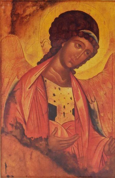 Ikona na drewnie - Michał Archanioł