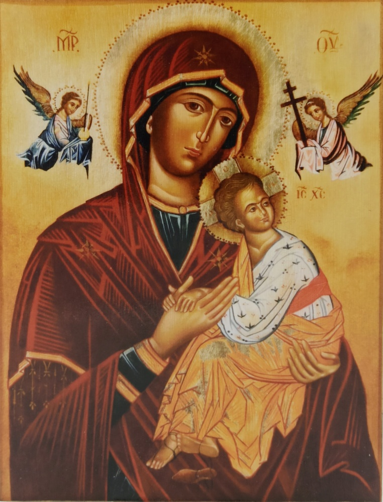 Ikona na drewnie - Matka Boża Nieustającej Pomocy