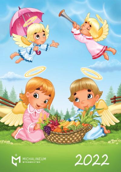 Kalendarz 2022 Aniołki (dla dzieci)