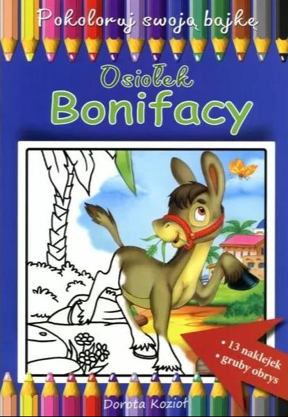 Osiołek Bonifacy - kolorowanka