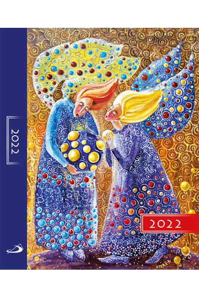 Terminarz 2022 KOLOROWY (A5) - anioły