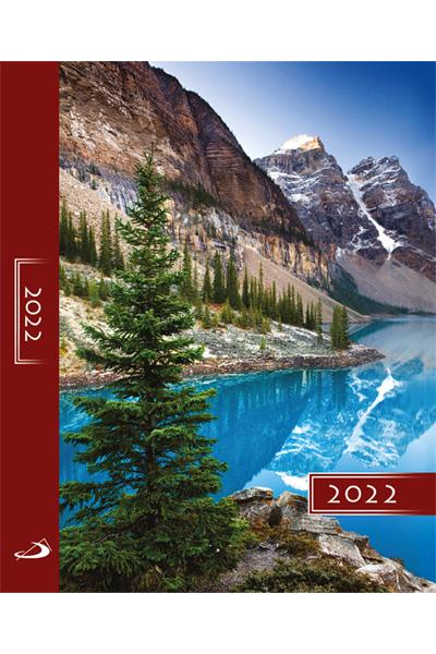 Terminarz 2022 KOLOROWY (A5) - góry