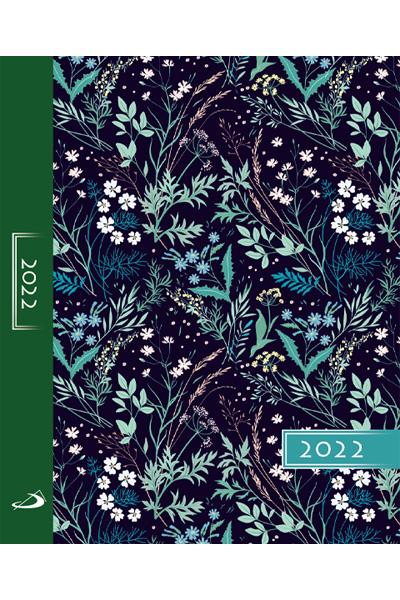 Terminarz 2022 KOLOROWY (A5) -ornament