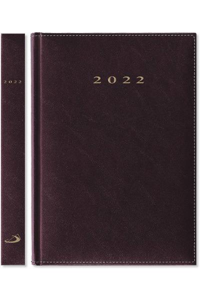 Terminarz 2022 MADRID (A5) - bordowy