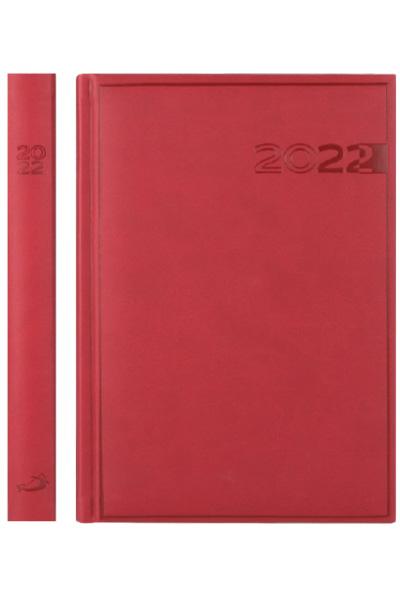 Terminarz 2022 PRINT (A5) - czerwony