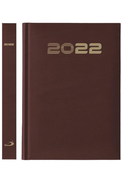 Terminarz 2022 STANDARD (A5) - bordowy