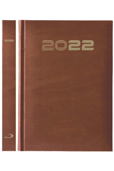 Terminarz 2022 STANDARD (A5) - brązowy