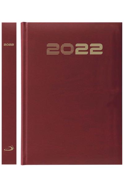 Terminarz 2022 STANDARD (A5) - czerwony