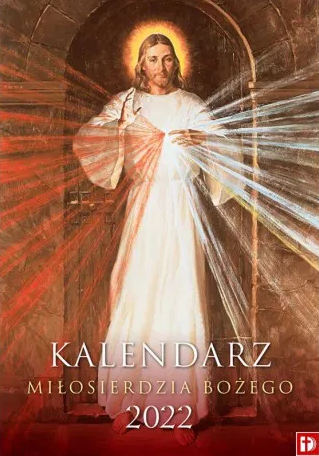 Kalendarz ścienny - Miłosierdzia Bożego 2022
